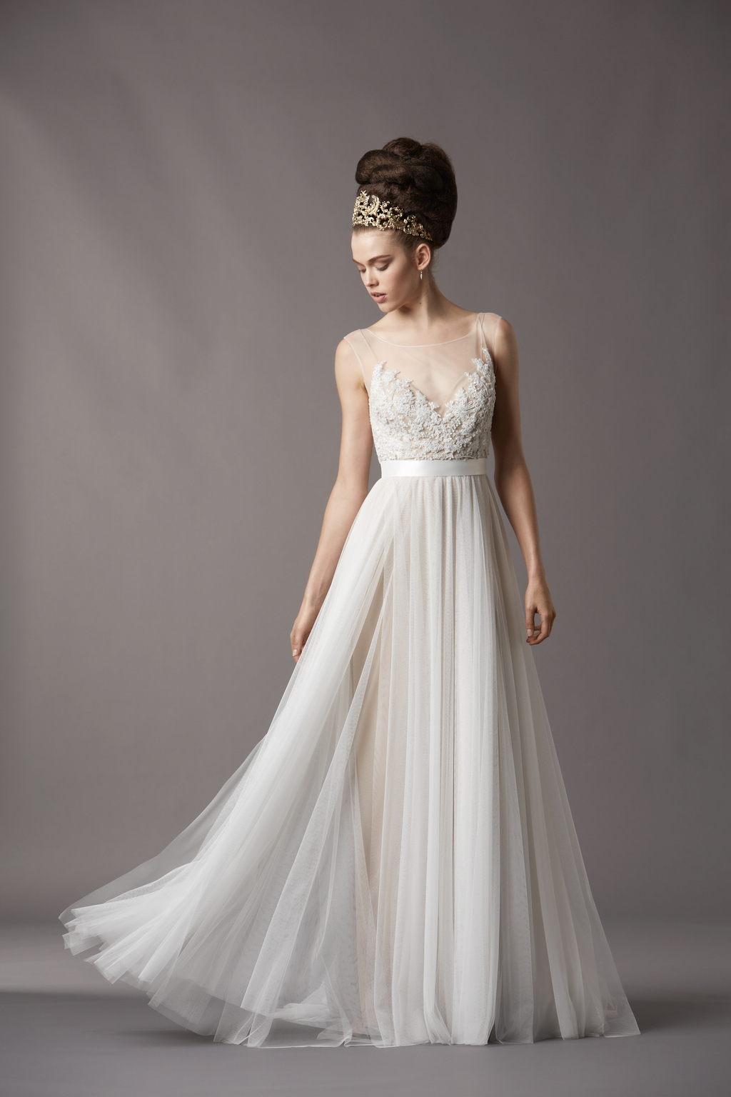 Watters bridal gowns fall 2013 wedding dress 4061b for Dresses for fall wedding