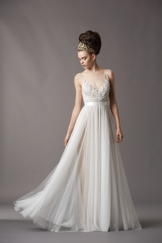 Watters Bridal Gowns Fall 2013 Wedding Dress 4061B