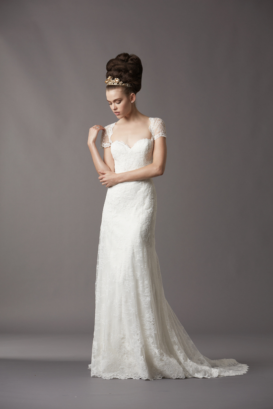 Watters Bridal Gowns Fall 2013 Wedding Dress 4068B