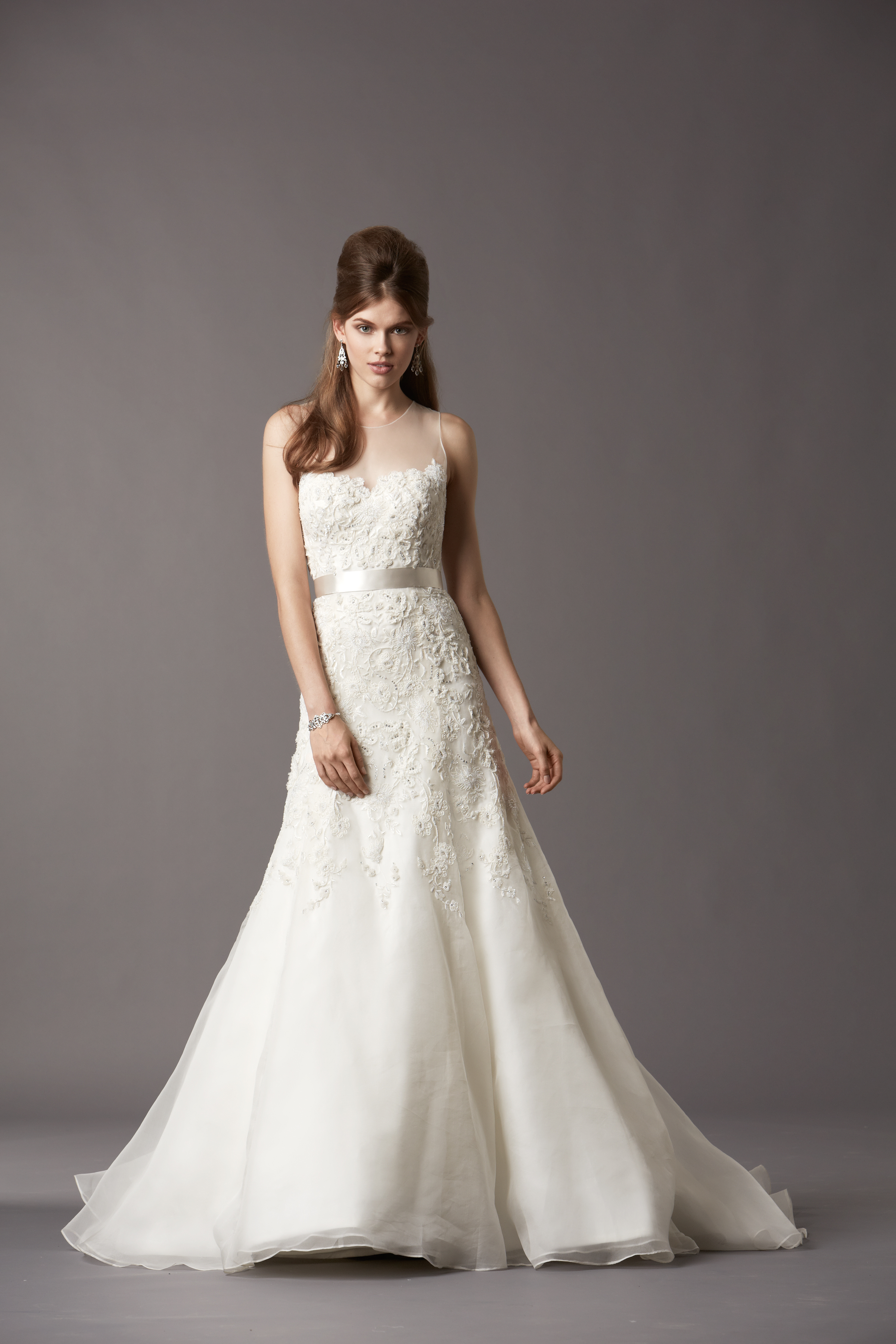 Watters bridal gowns fall 2013 wedding dress 4071b for Watters wtoo wedding dresses