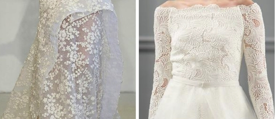 3 lace wedding dress trends spring 2014 fall 2013 modern angel sanchez monique lhuillier