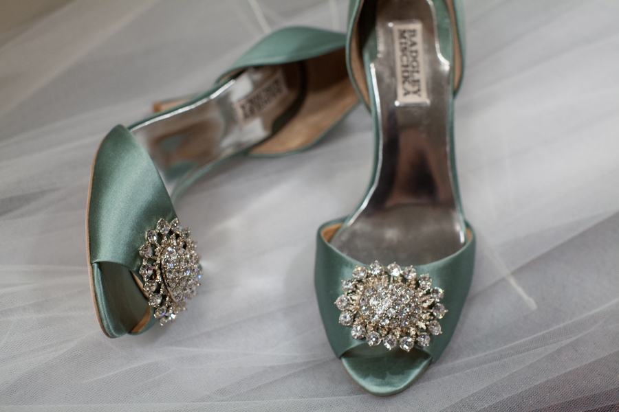 Real Wedding Long Island Throo Williams Photography by Verdi Green Wedding Shoes Badgley Mishka