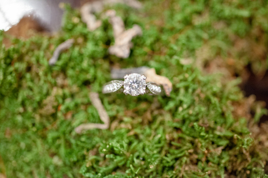 Check out that engagement ring bling bride and groom show for Long island wedding bands