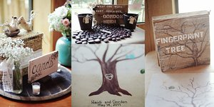 photo of 5 More Fabulously Creative Wedding Guest Book Ideas