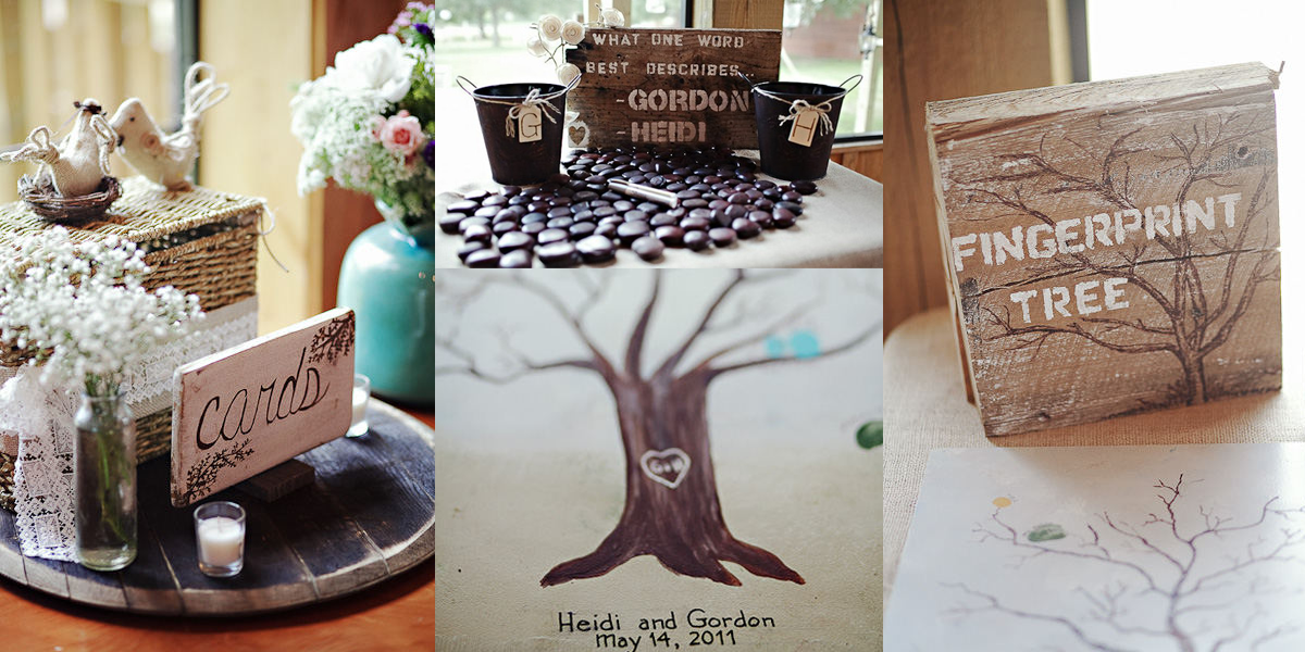 Wedding Guest Book Alternative Ideas