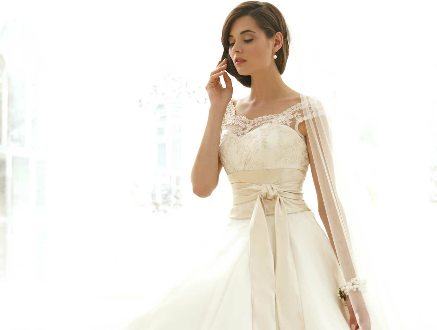 sassi holford wedding dress 2012 bridal gowns couture cap