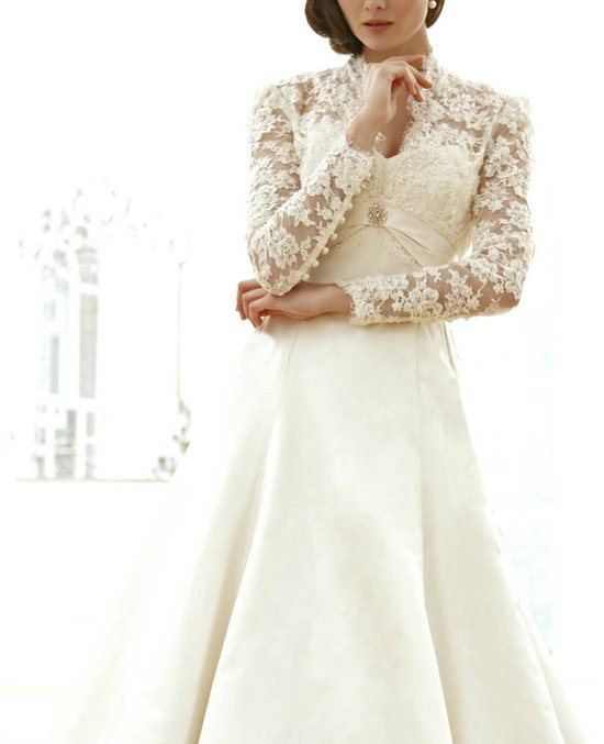 photo of sassi holford wedding dress 2012 bridal gowns couture lace sleeves