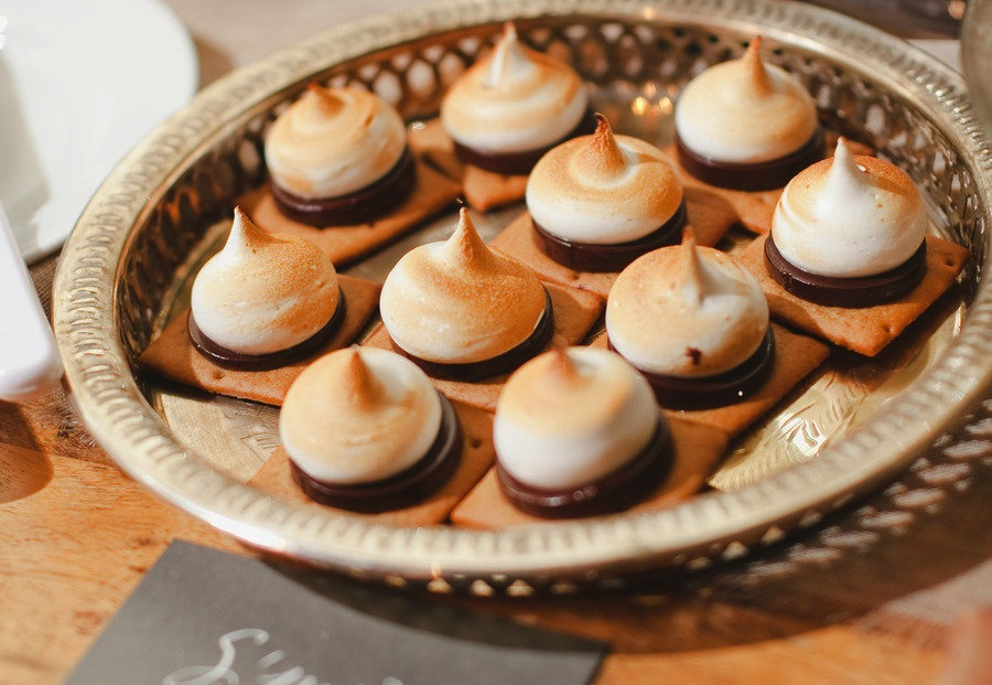 Fancy Smores For The Wedding Reception Dessert Bar