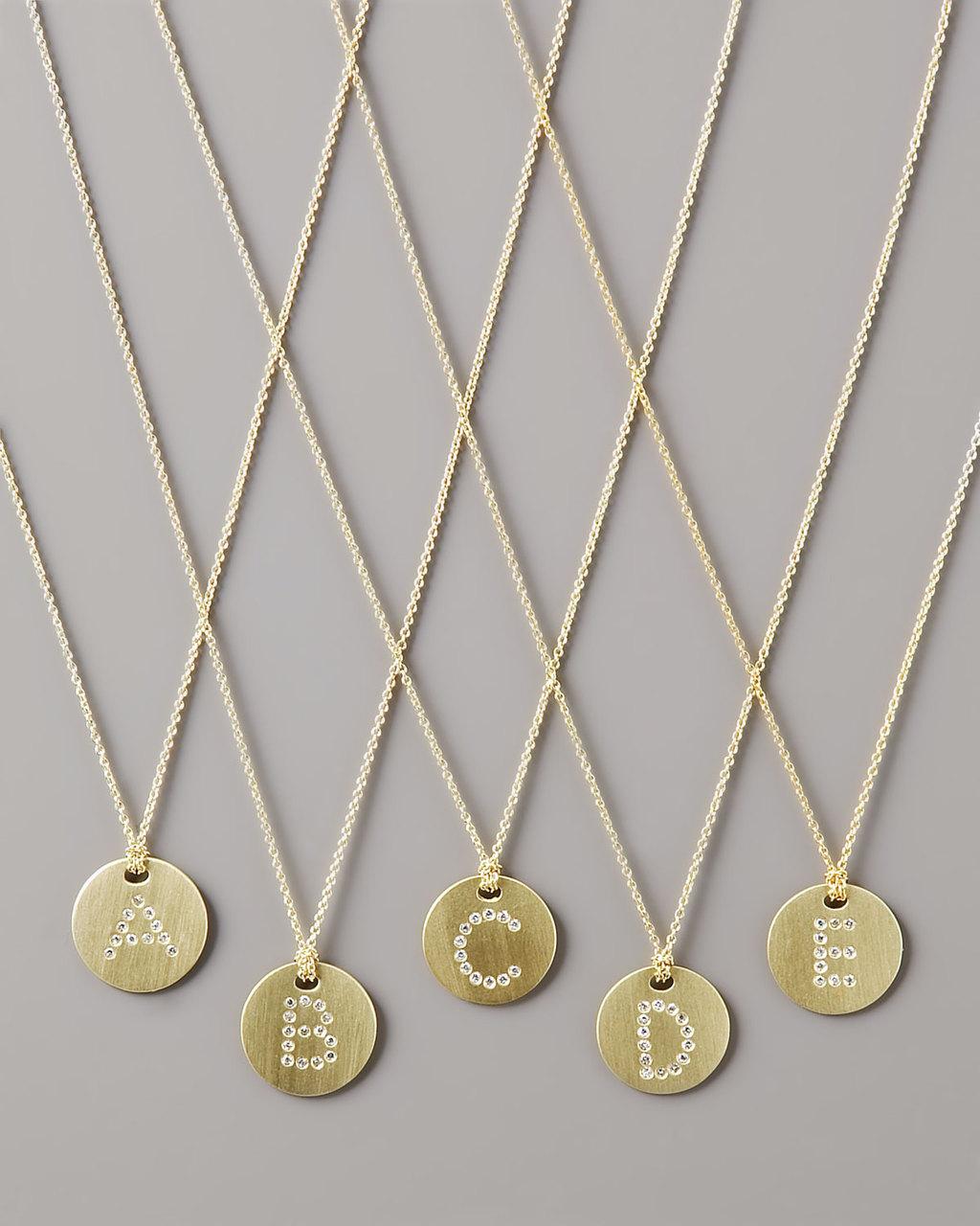 Letter-medallion-wedding-necklace-diamond-initials.full