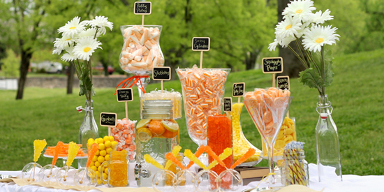 orange-and-yellow-candy-buffet