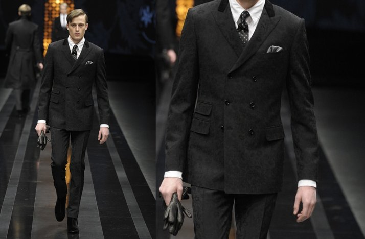Classic-grooms-black-suit-paisley-pattern-canali-2012.full