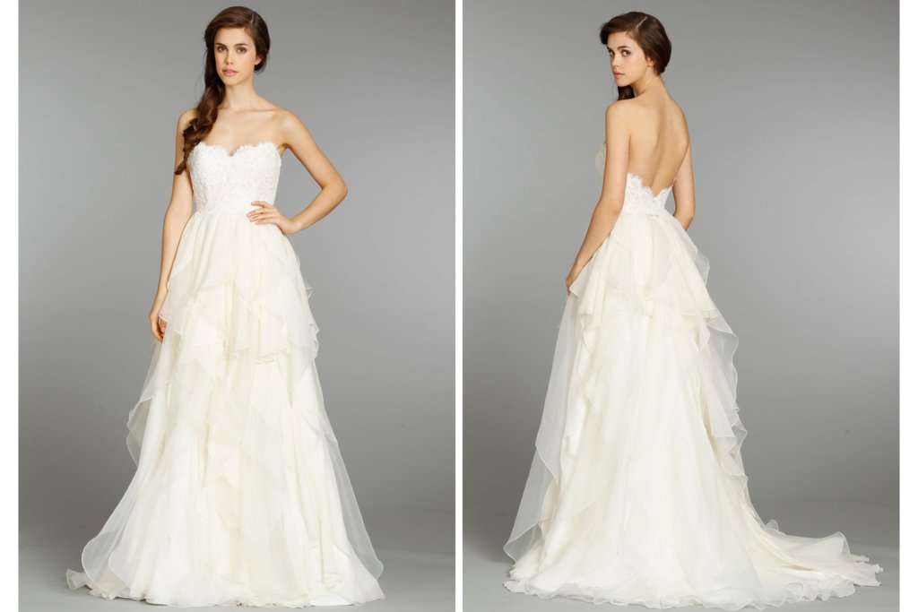 Hayley Paige wedding dress Fall 2013 Bridal 6353 2