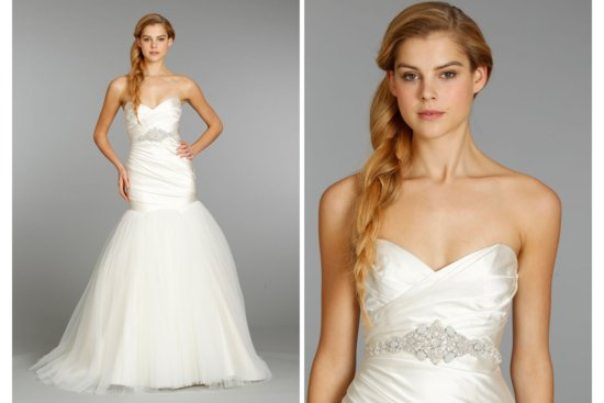 Hayley Paige wedding dress Fall 2013 Bridal 6354