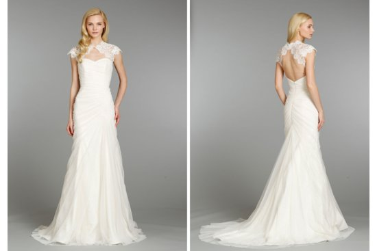 Hayley Paige wedding dress Fall 2013 Bridal 6355