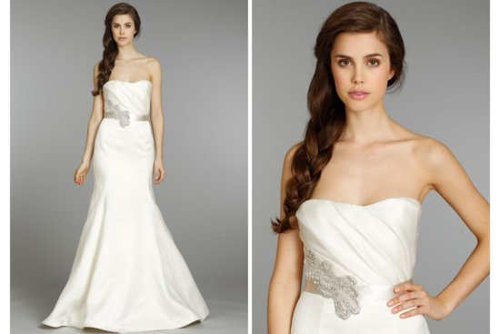 Hayley Paige wedding dress Fall 2013 Bridal 6356