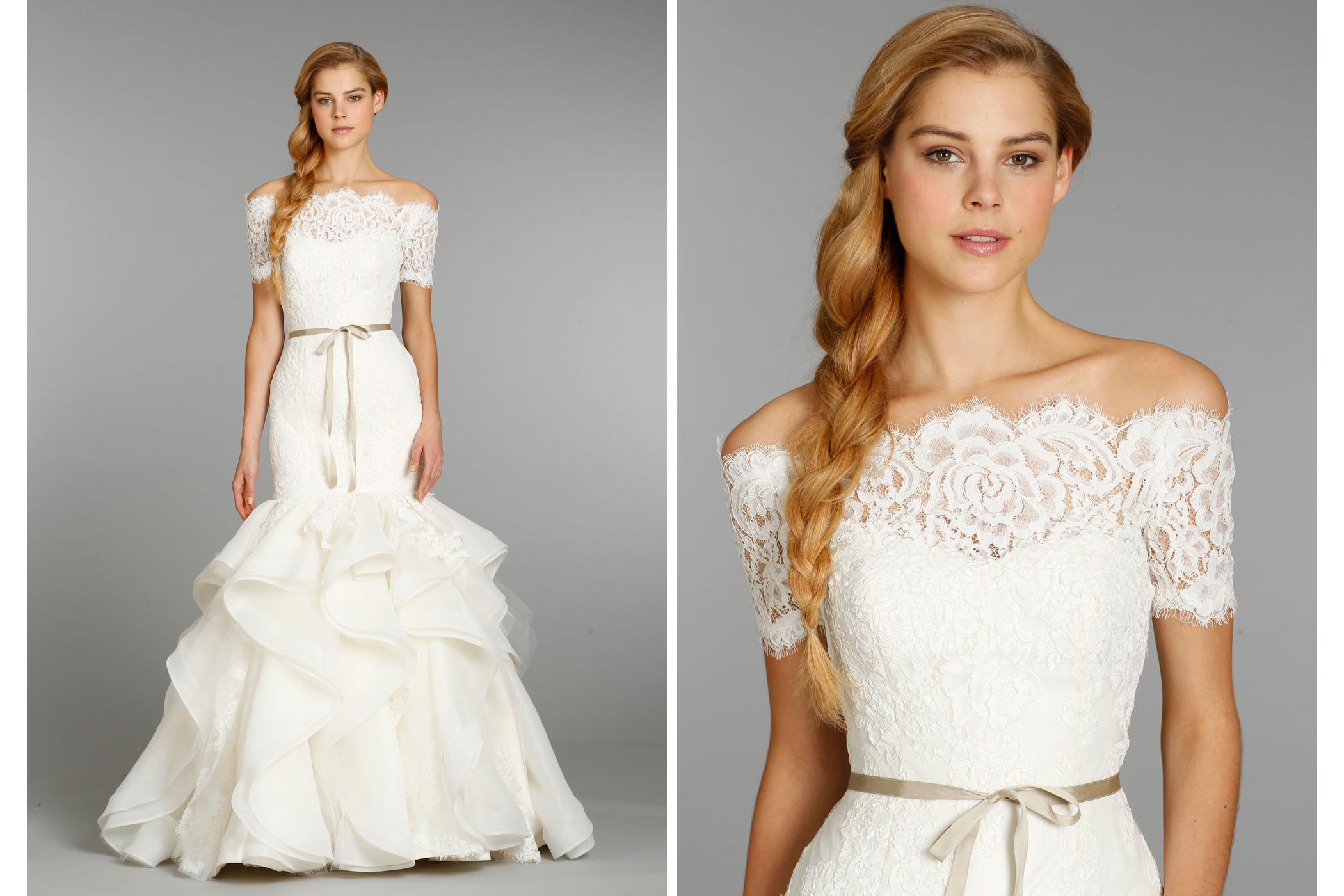Hayley paige wedding dress fall 2013 bridal 6357 for Hayley paige wedding dress