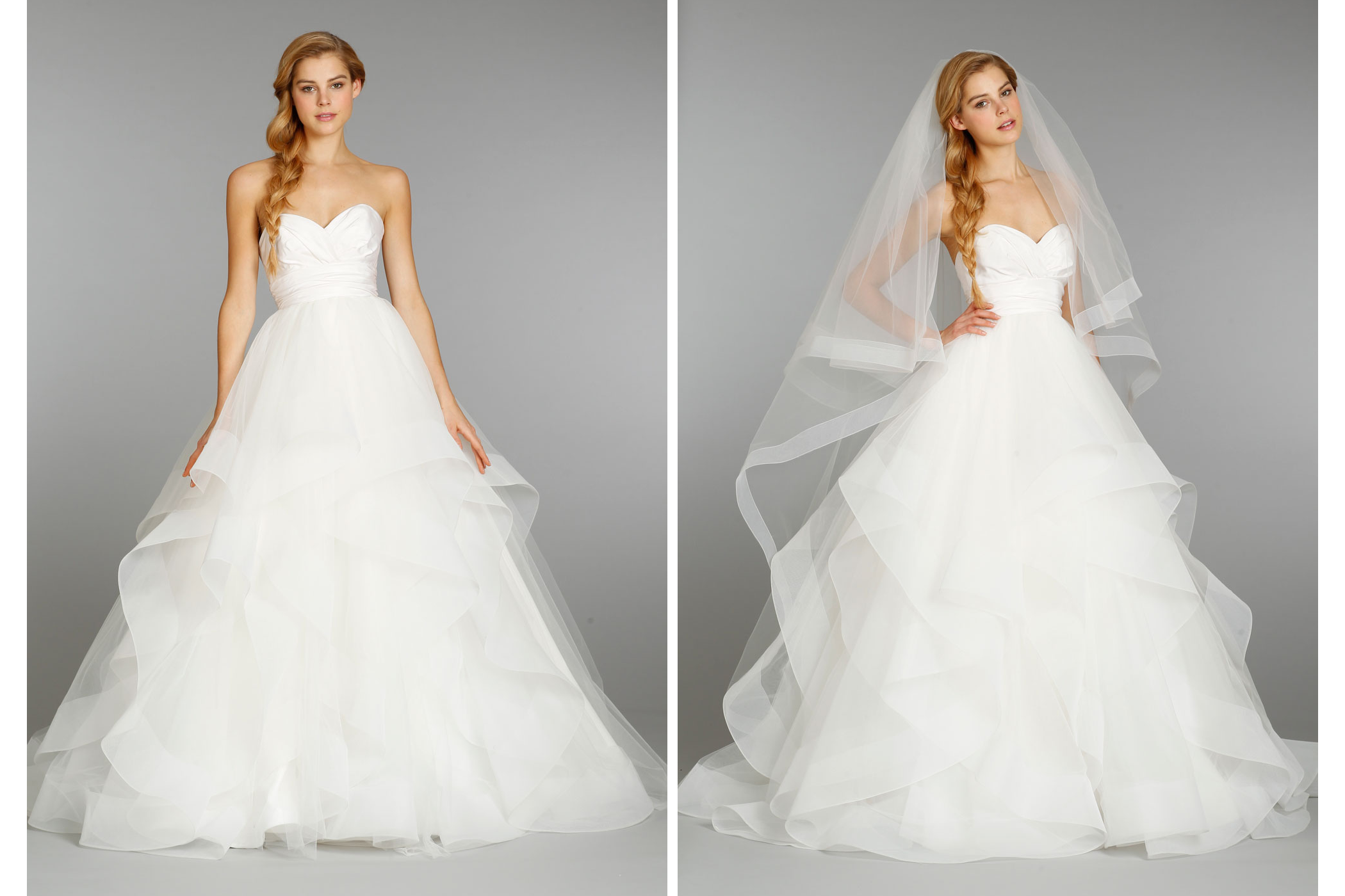 Hayley paige wedding dress fall 2013 bridal 6358 for Hayley paige wedding dress