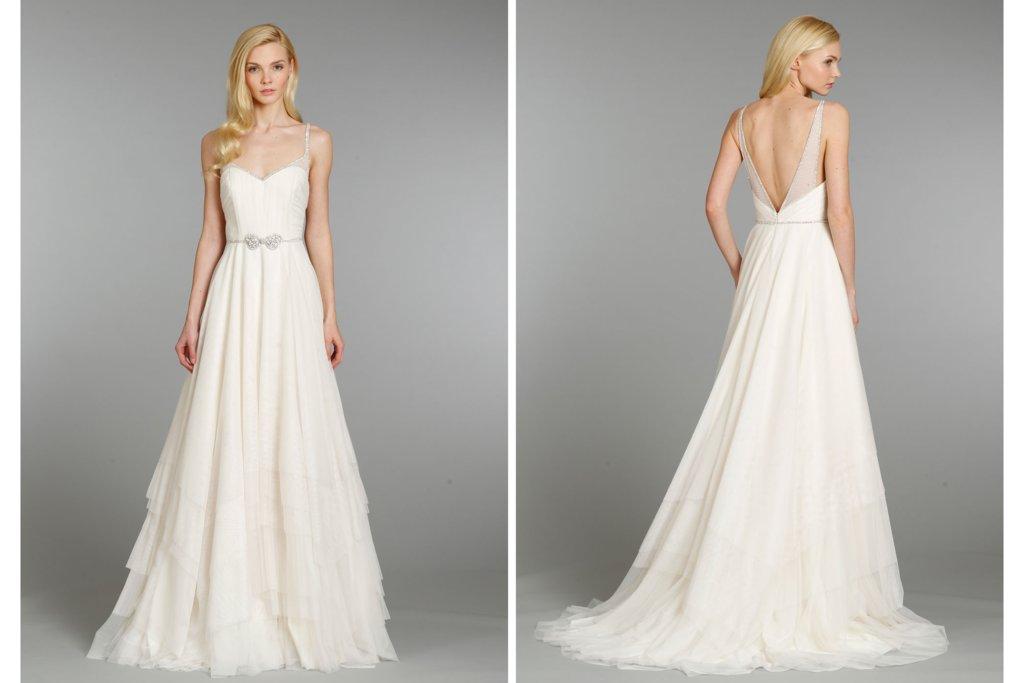 Hayley Paige Wedding Dress Fall 2013 Bridal 6360