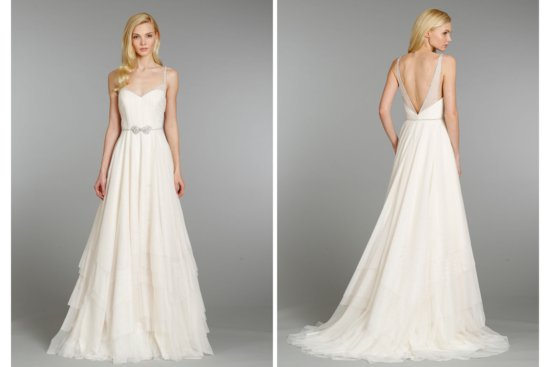 Hayley Paige wedding dress Fall 2013 Bridal 6360
