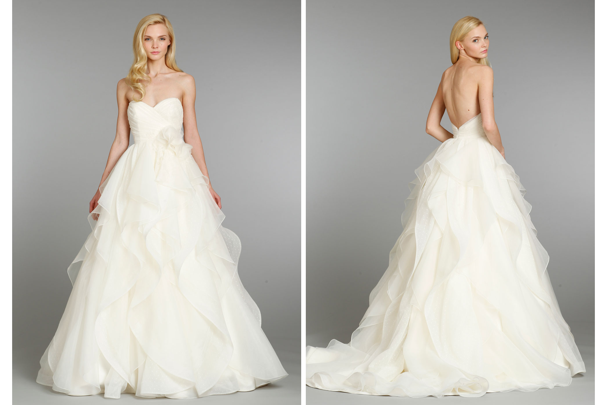 Hayley paige wedding dress fall 2013 bridal 6361 for Hayley paige wedding dress