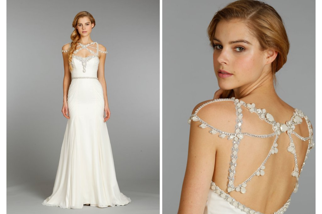 Hayley paige wedding dress fall 2013 bridal 6362 junglespirit Choice Image