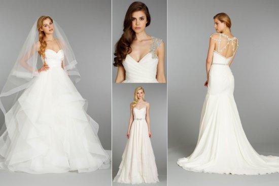 photo of Hayley Paige wedding dress Fall 2013 Bridal 2