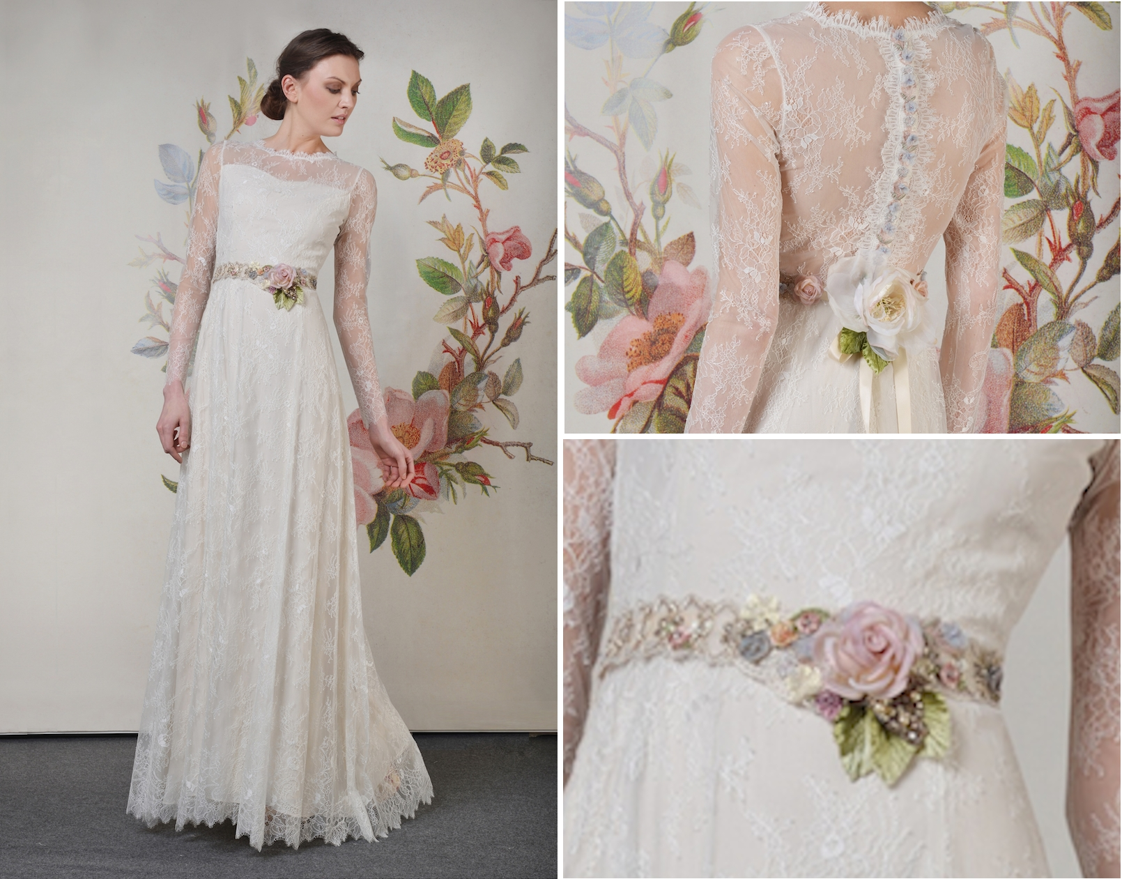 Claire Pettibone Spring Summer 2014 Decoupage Collection