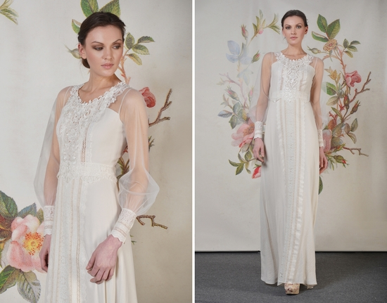 Claire Pettibone Spring Summer 2014 Decoupage Collection Delaney