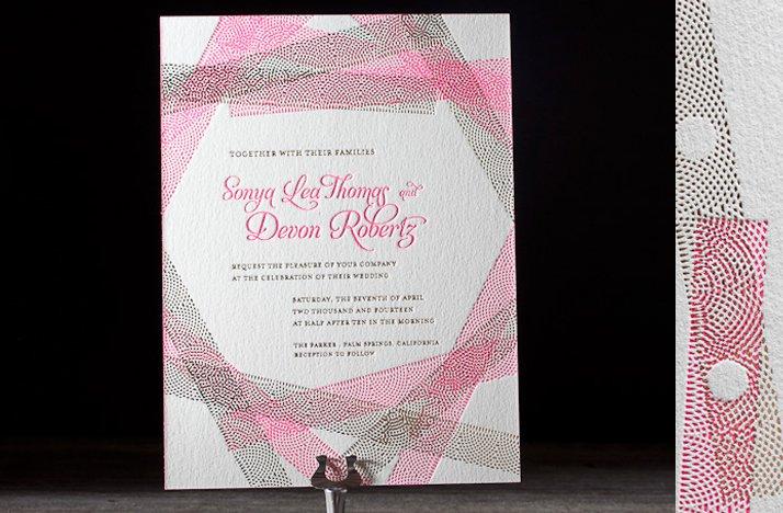 Wedding-invitations-2012-letterpress-hot-pink-gold-wedding-invits.full