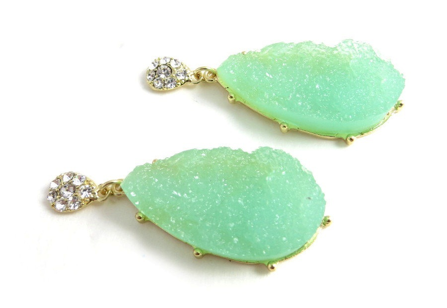Mint-green-druzy-stone-statement-earrings.full