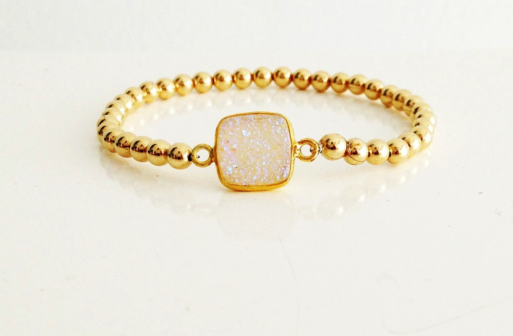 White-druzy-quartz-and-gold-bridal-bracelet.full