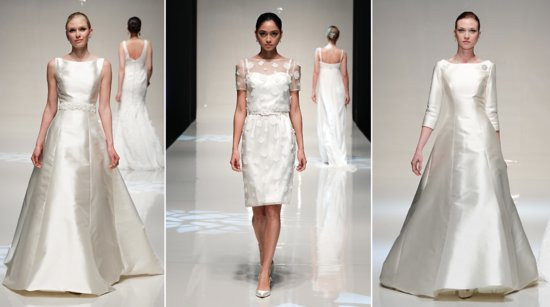 Stewart Parvin bridal Spring 2014 wedding dresses 1
