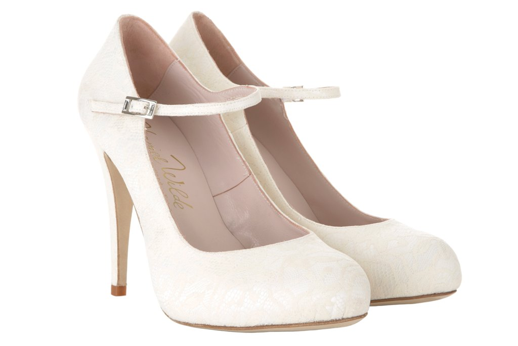 wedding shoes by harriet wilde bridal heels martha lace