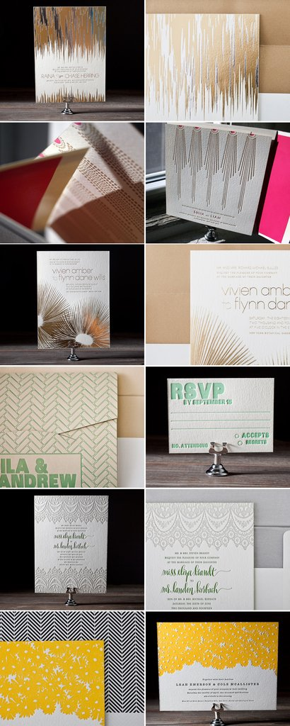 photo of Distinctive Wedding Invites to Set the Tone