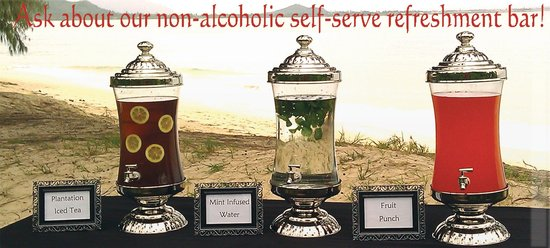 Self serve refreshments