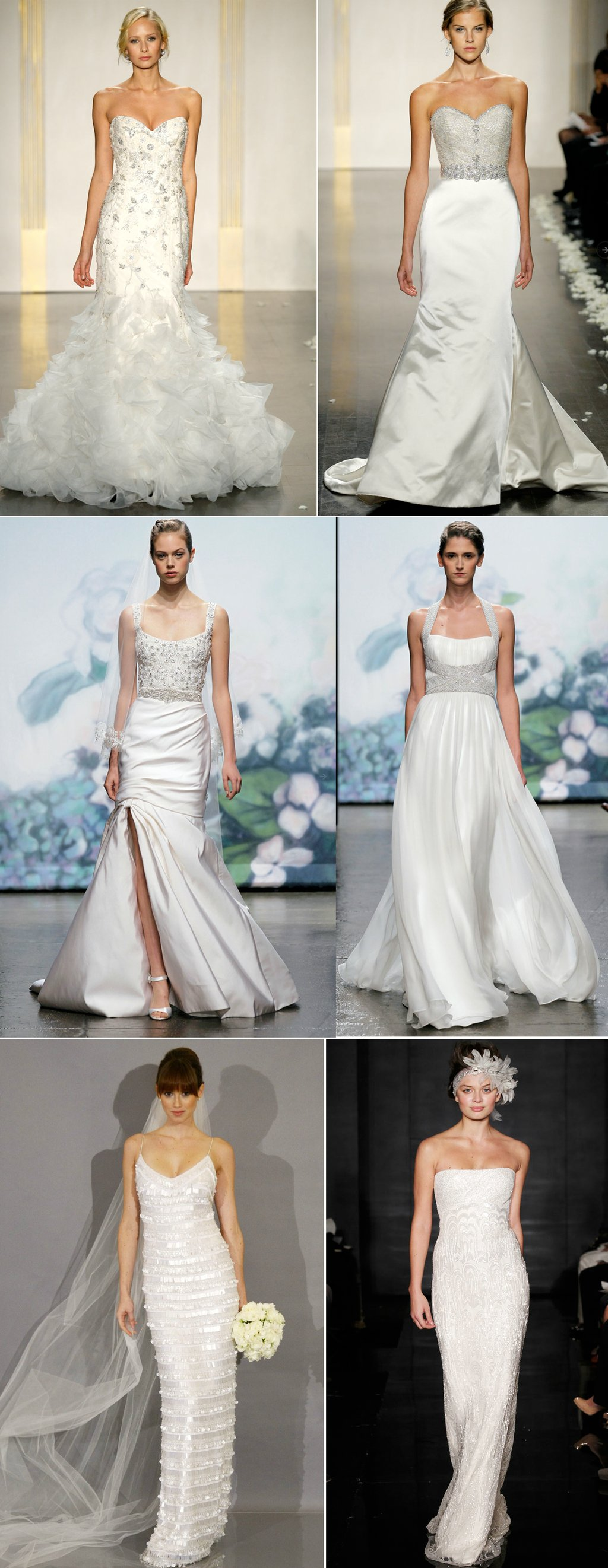 2012 wedding dresses beaded bridal gown reem acra lazaro