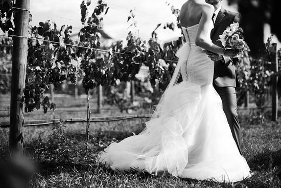 photo of Romantic Winery Wedding at Villa Bellezza: Hilary + Nicholas