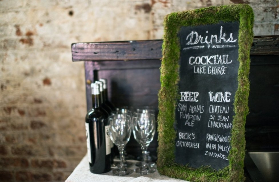 Simple-wedding-diys-to-try-moss-framed-cocktail-menus.full