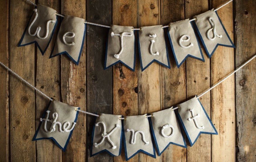 We-tied-the-knot-flag-wedding-banner.full