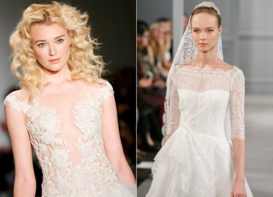 lace trends 2014 bridal
