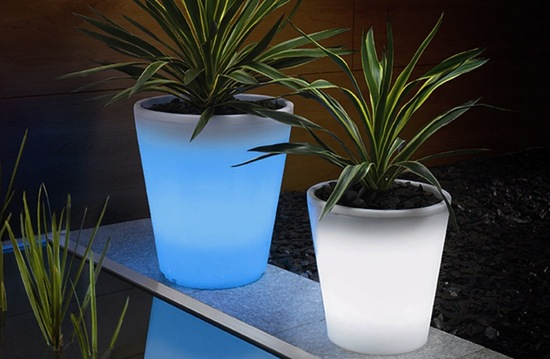 glow pots for wedding reception centerpieces