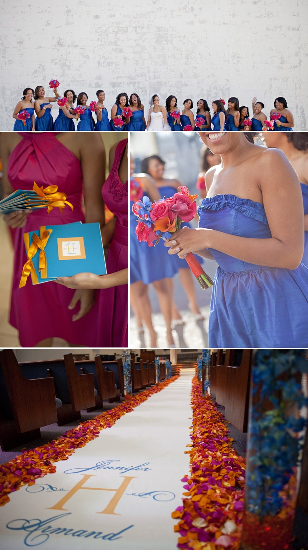 Blue-bridesmaids-dresses-colorful-flowers.full