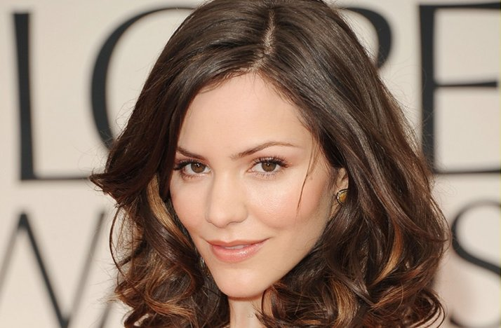 2012 golden globes brunette bride wedding hair ideas
