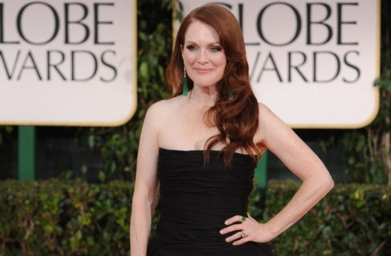 julianne moore golden globes 2012 bridal hair makeup ideas