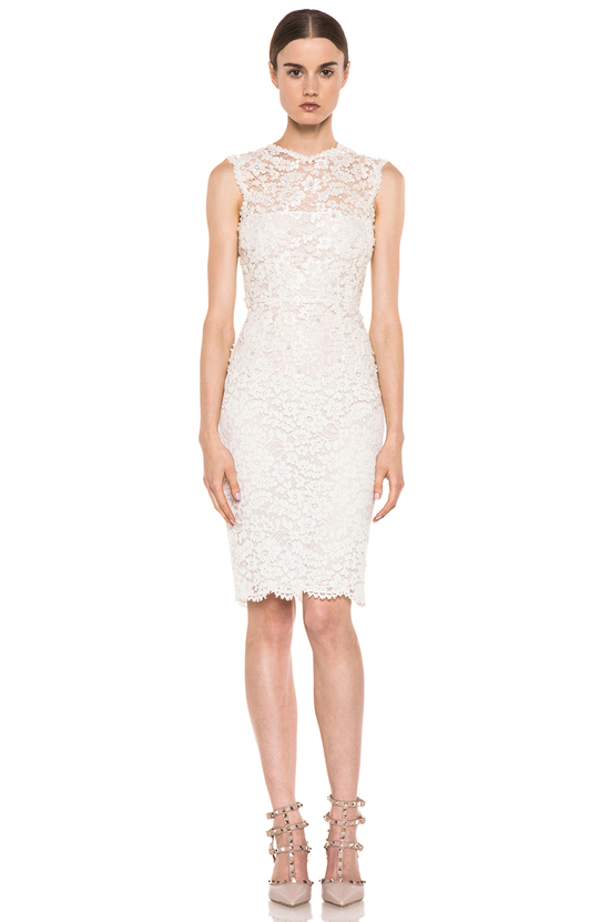 Floral lace Valentino LWD