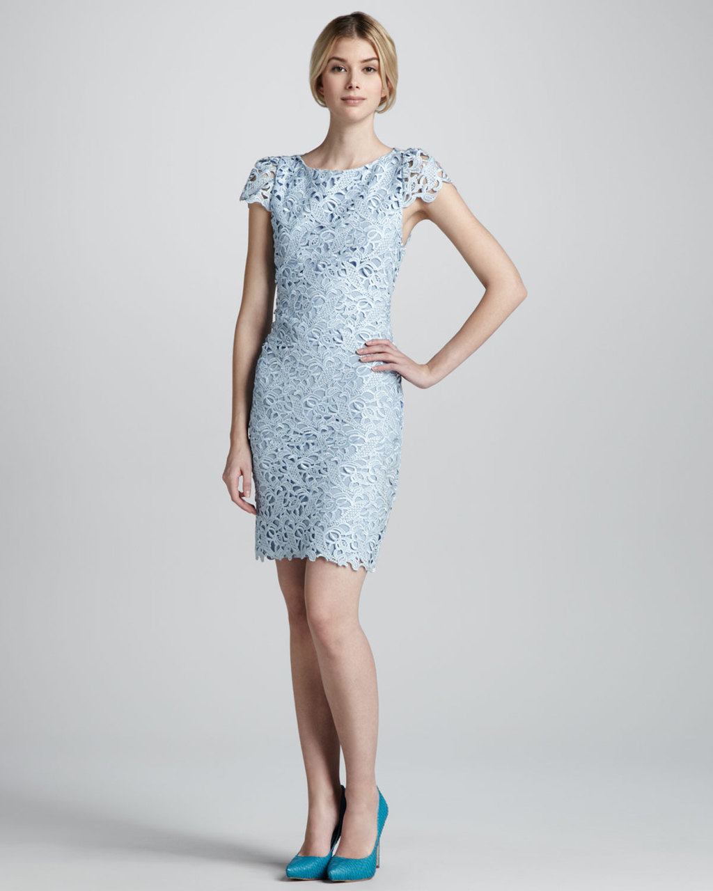 Powder-blue-lace-dress-for-the-reception-or-bridesmaids.full