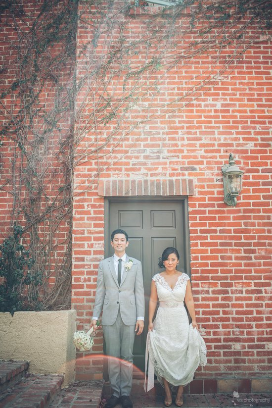 California wedding photography bride and groom portrait