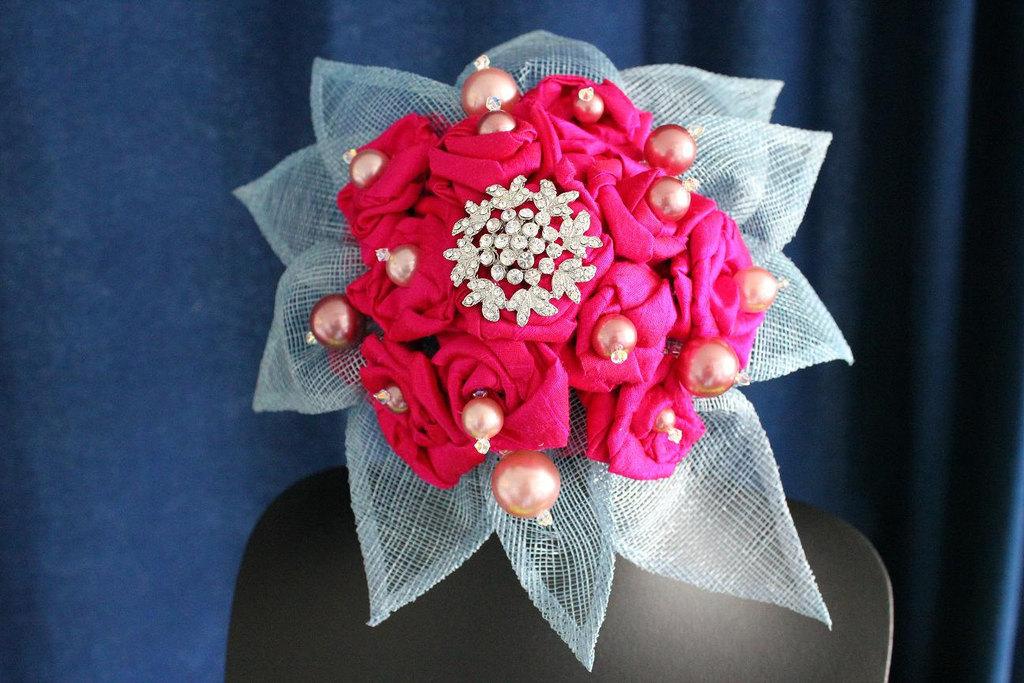 Hot-pink-silk-rose-wedding-bouquet.full