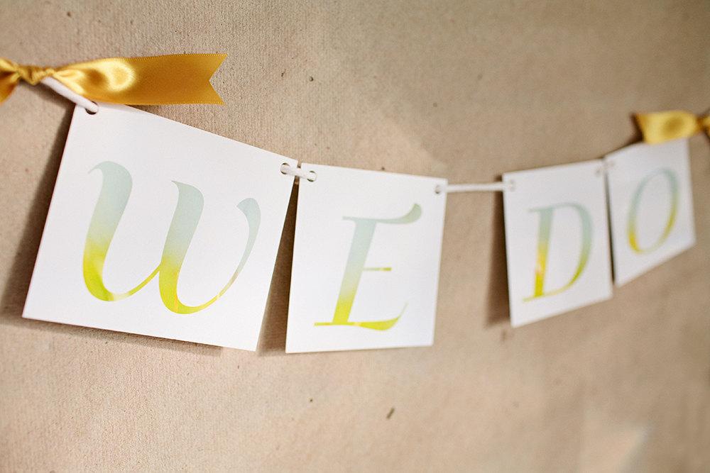 Lime-aqua-ombre-we-do-wedding-sign.full