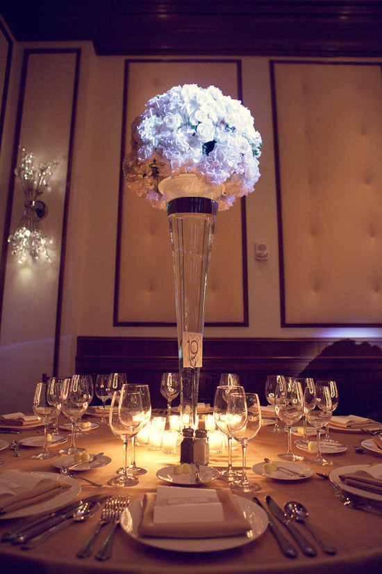 Conrad Hotel Center Pieces
